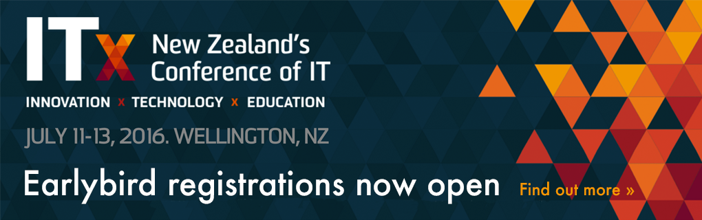 ITx 2016 - New Zealand's conference of IT