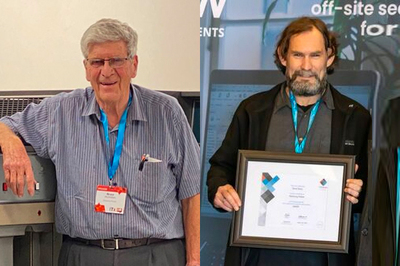 Two honoured with ITP Honorary Fellowships